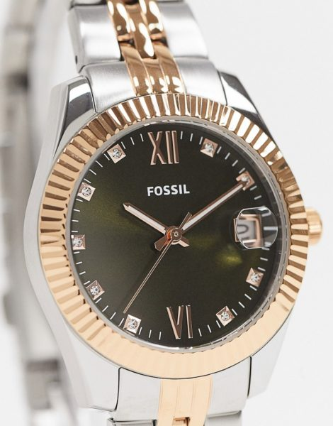 Fossil - Damen-Armbanduhr aus Metallmix, ES4948-Mehrfarbig