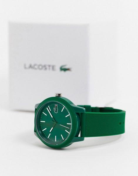 Lacoste - 12.12 - Grüne Silikon-Armbanduhr