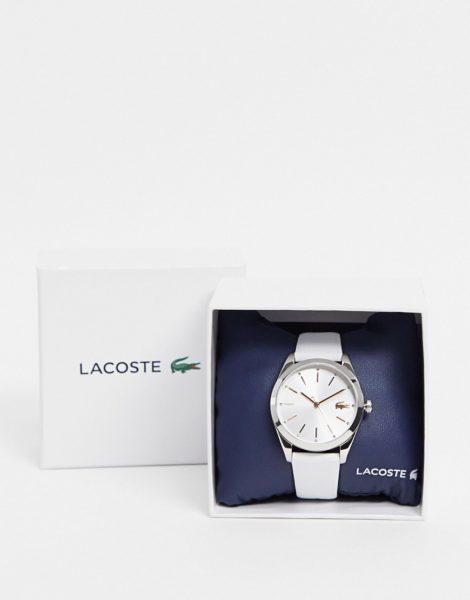 Lacoste - Parisienne - Uhr mit weißem Armband