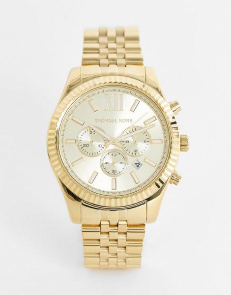 Michael Kors - MK8281 Lexington - Chronograph Armbanduhr in Gold
