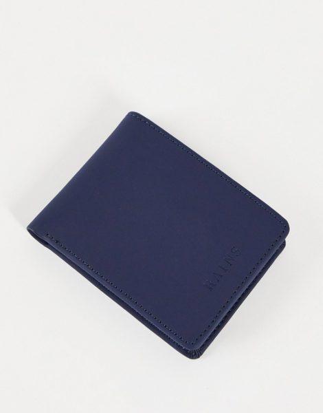 Rains - 1660 - Faltbrieftasche in Blau