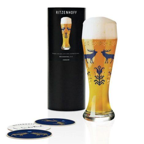 "Ritzenhoff Bierglas ""Weizen Iris Interthal 645 ml"", Kristallglas"
