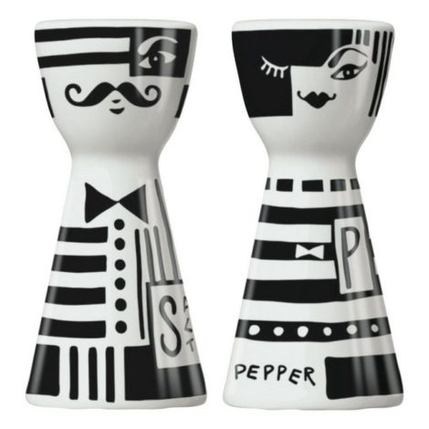 "Ritzenhoff Salz- / Pfefferstreuer ""Mr. Salt & Mrs. Pepper Andrea Arnolt 2-tlg."", (1-tlg)"