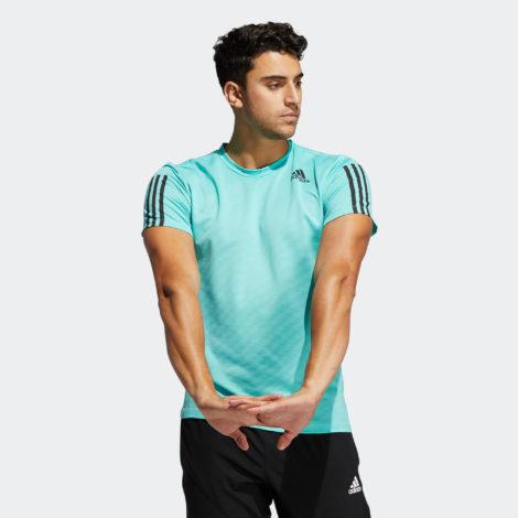 T-Shirt Adidas Fitnesstraining grün