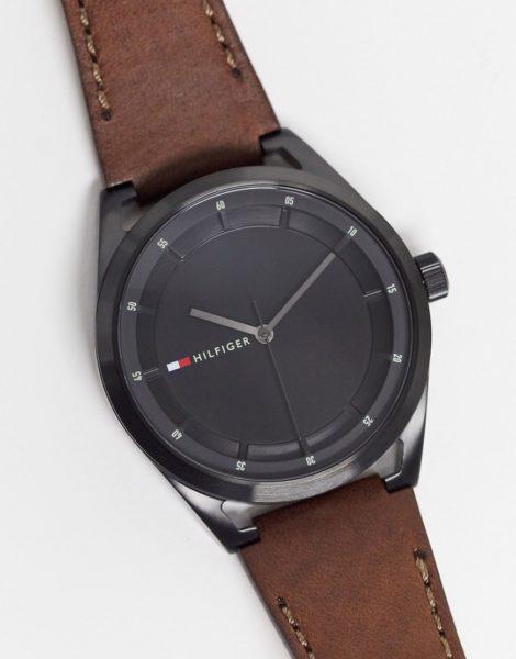 Tommy Hilfiger - Collin - Armbanduhr mit Logo-Braun