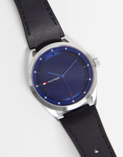 Tommy Hilfiger - Collin - Armbanduhr mit Logo-Schwarz