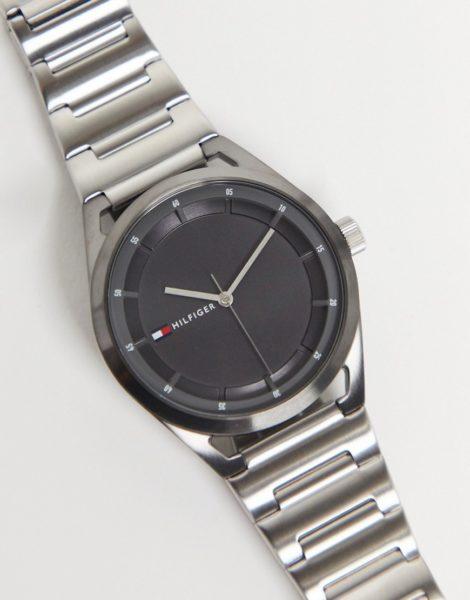 Tommy Hilfiger - Collin - Armbanduhr mit Logo-Silber