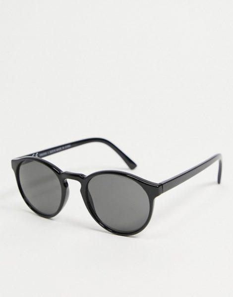 Weekday - Spy - Sonnenbrille in Schwarz