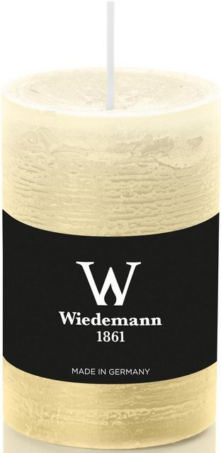 Wiedemann Stumpenkerze (Set, 8-tlg), mit Banderole, ca. Ø 5,8 cm