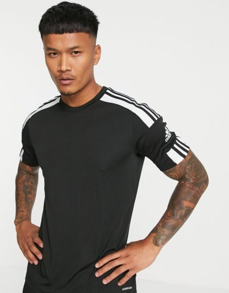 adidas - Football Squad 21 - T-Shirt in Schwarz