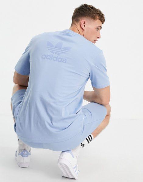 adidas Originals - adicolor Marshmallow - T-Shirt in Himmelblau