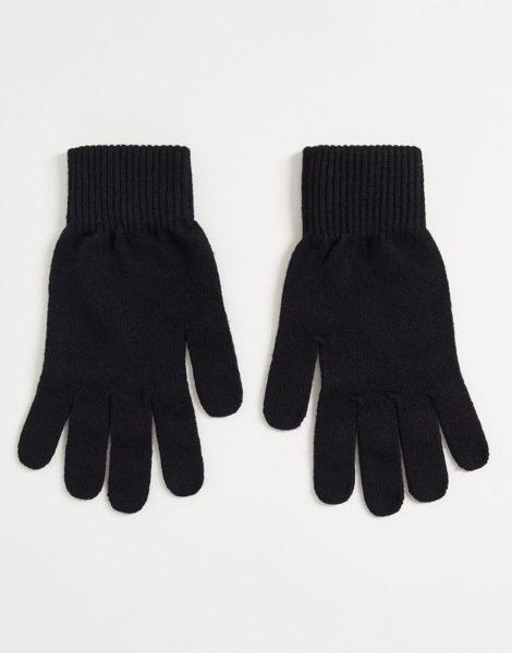 ASOS DESIGN - Schwarze Handschuhe