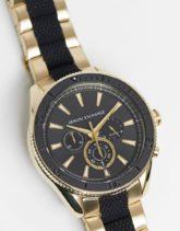 Armani Exchange - AX1814 Enzo - Armbanduhr in Schwarz/Gold