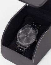 Armani Exchange - Fitz - Armbanduhr, in Schwarz