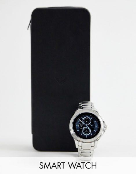 Emporio Armani - ART5010 - Silberne Smartuhr, 43 mm