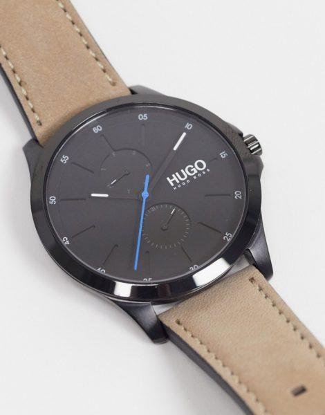 Hugo Boss - Jump - Uhr mit braunem Armband