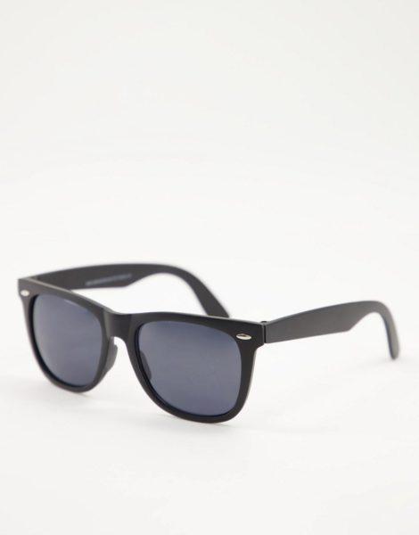 New Look - Retro-Sonnenbrille in Schwarz
