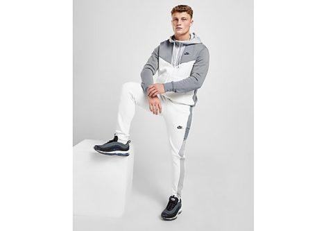 Nike Hybrid Jogginghose Herren - White/Cool Grey/Wolf Grey/Black - Herren, White/Cool Grey/Wolf Grey/Black