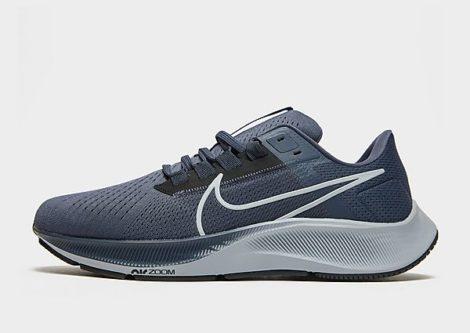 Nike Nike Air Zoom Pegasus 38 Herren-Laufschuh - Thunder Blue/Black/Dark Obsidian/Wolf Grey - Herren, Thunder Blue/Black/Dark Obsidian/Wolf Grey