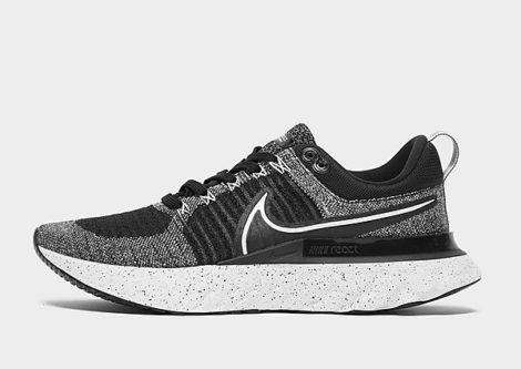 Nike React Infinity Run Flyknit 2 Herren - White/Black - Herren, White/Black
