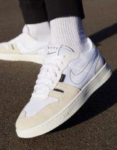 Nike - Squash-Type - Weiße Sneaker