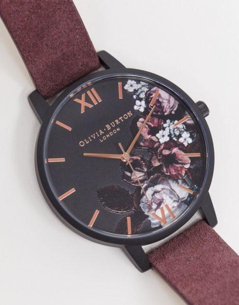 Olivia Burton - Shoreditch Fine Art - Armbanduhr-Rot