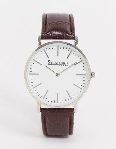 Stratford - Uhr mit schwarzem Armband