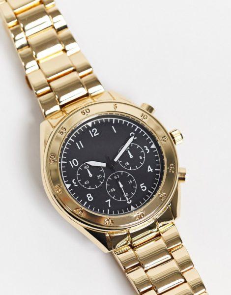 Topman - Armbanduhr in Gold