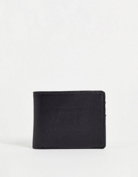 Vans - Schwarze Geldbörse mit Logo