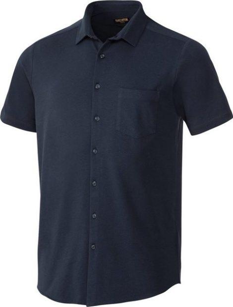 Franco Bettoni Kurzarmhemd flexibler Single-Jersey