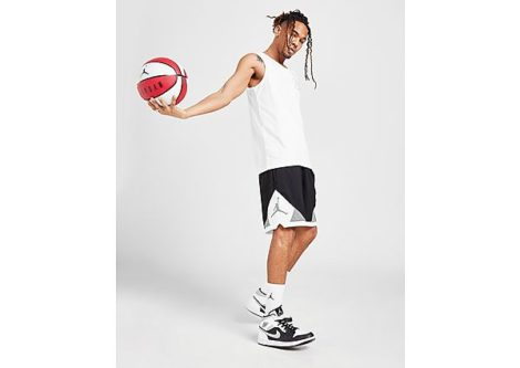 Jordan Diamond Shorts Herren - Black/White/Smoke Grey/Smoke Grey - Herren, Black/White/Smoke Grey/Smoke Grey