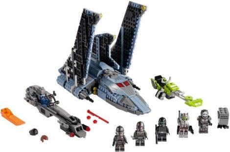 """LEGO® Konstruktionsspielsteine """"Angriffsshuttle aus The Bad Batch™ (75314), LEGO® Star Wars™"""", (969 St), Made in Europe"""