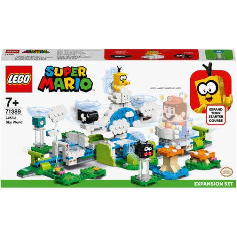 LEGO® Super Mario™ - 71389 Lakitus Wolkenwelt - Erweiterungsset, baubares Kinderspielzeug zum Sammeln, Geschenkidee