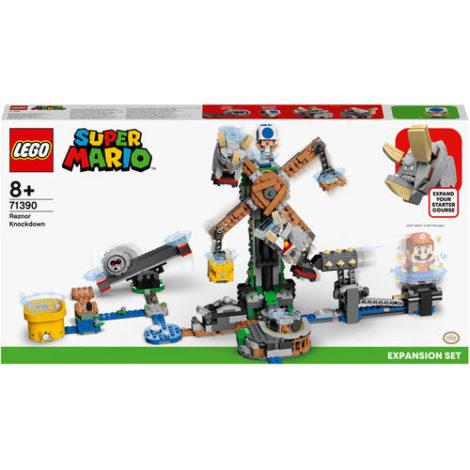 LEGO® Super Mario™ - 71390 Reznors Absturz Erweiterungsset, baubares Kinderspielzeug zum Sammeln, Geschenkidee