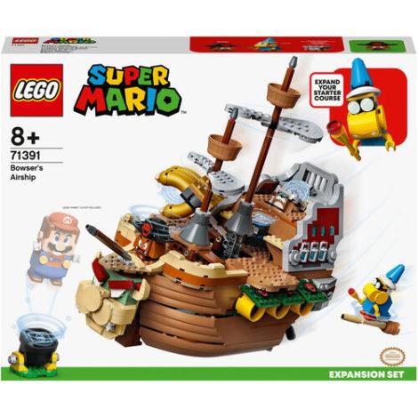 LEGO® Super Mario™ - 71391 Bowsers Luftschiff Erweiterungsset, baubares Kinderspielzeug zum Sammeln, Geschenkidee mit 3 Figuren