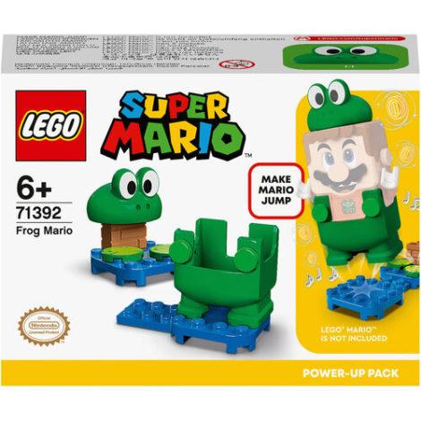 LEGO® Super Mario™ - 71392 Frosch-Mario Anzug, Upgrade, Spielzeugkostüm für Kinder ab 6 Jahren, Geschenkidee Sammlerspielzeug