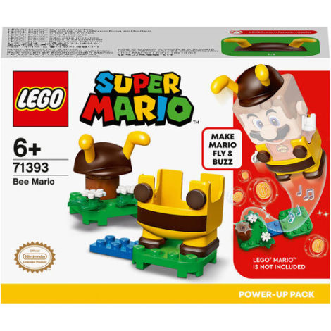 LEGO® Super Mario™ - 71393 Bienen-Mario Anzug, Upgrade, Spielzeugkostüm, Geschenkidee Sammlerspielzeug