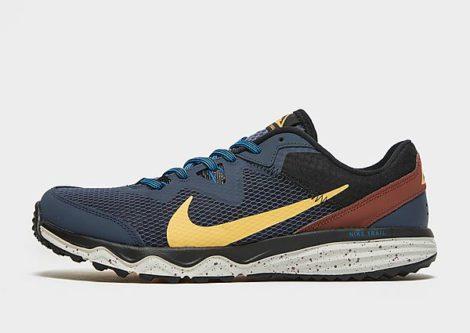 Nike Juniper Trail Herren - Thunder Blue/Dark Pony/Black/Melon Tint - Herren, Thunder Blue/Dark Pony/Black/Melon Tint