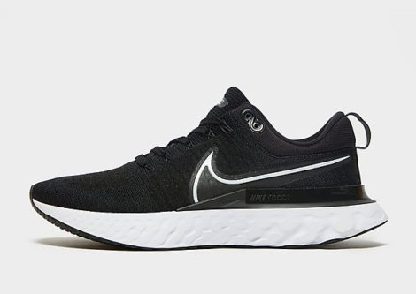 Nike React Infinity Run Flyknit 2 Herren - Black/White/White - Herren, Black/White/White