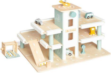 """Pinolino® Spiel-Parkhaus """"Kurt"""", mit manuellem Aufzug; FSC®-Holz aus gewissenhaft bewirtschafteten Wäldern"""