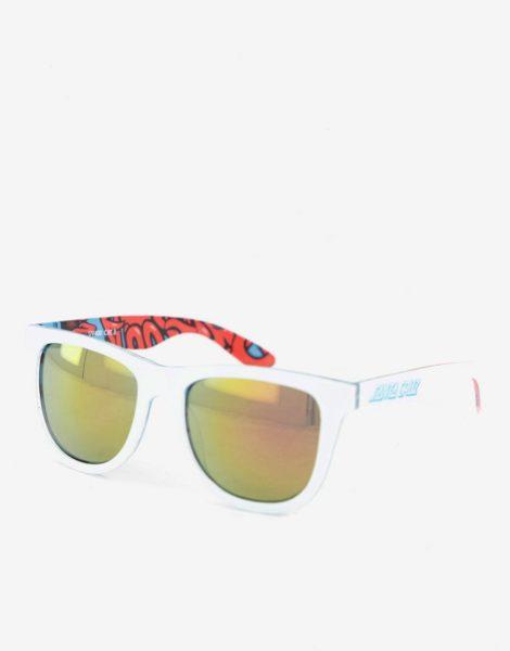 Santa Cruz - Screaming Insider - Sonnenbrille in Schwarz/Weiß
