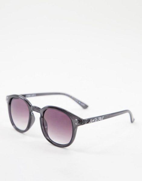 Santa Cruz - Watson - Sonnenbrille in transparentem Schwarz
