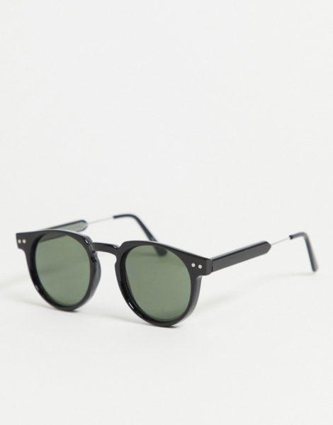 Spitfire - Teddy Boy - Runde Sonnenbrille in Schwarz