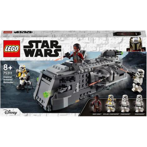 Star Wars™ - 75311 Wars Imperialer Marauder, Bauset für Kinder ab 8 Jahren, Mandalorian-Modell mit 4 Minifiguren, Geschenkidee