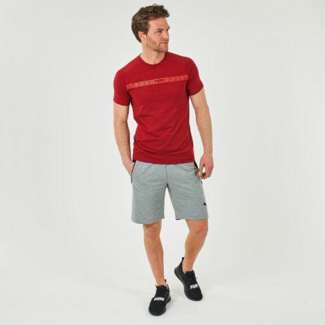 T-Shirt Fitness Herren rot