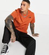 The North Face - Slice - T-Shirt in Orange, exklusiv bei ASOS