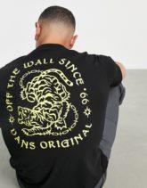 Vans - Angry Animal - T-Shirt in Schwarz mit Rückenprint