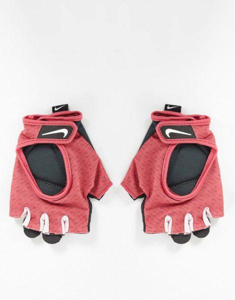 Nike - Ultimate - Gemusterte Sporthandschuhe für Damen in Rosa