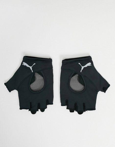 PUMA Training - Fingerlose Handschuhe in Schwarz