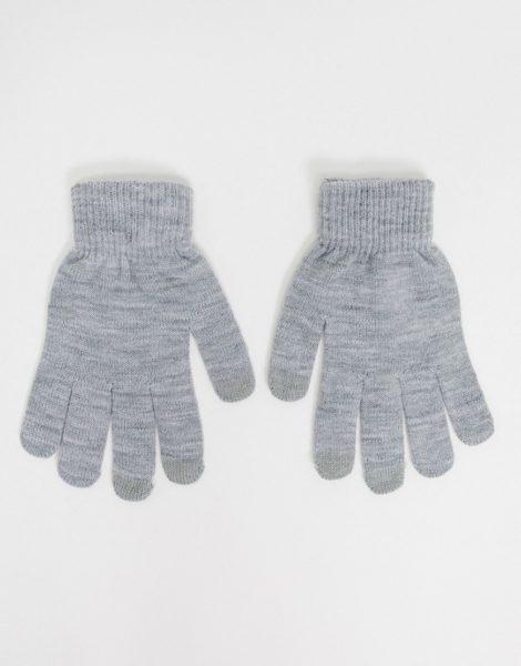 SVNX - Touchscreen-Handschuhe in Kalkgrau